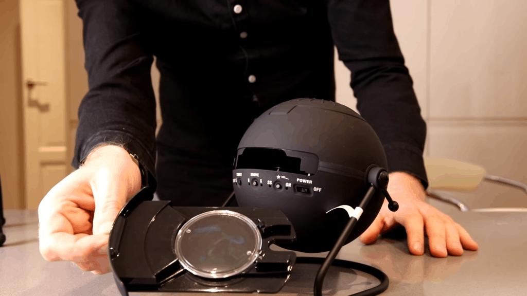Sega Homestar Flux Planetarium Disc Insertion