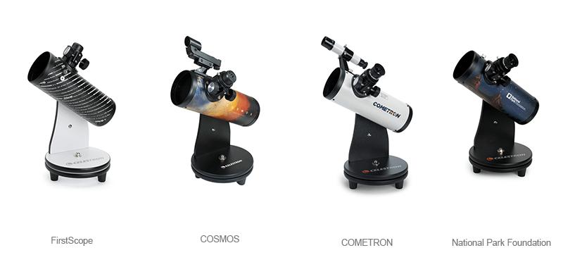 celestron firstscope range